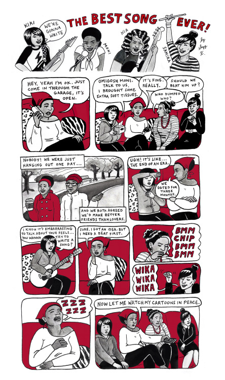 Sunday Comic: The Best Song Ever #5  By Suzy X.