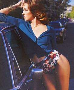 Katie Cassidy for Sharp Magazine.