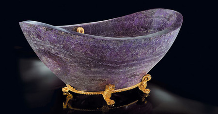 Amethyst Bath tub