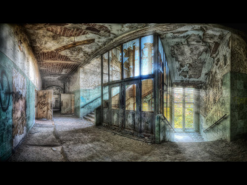 Divine Light by Matthias Haker Mr. Haker's photographs abandoned buildings around Europe. His photos are stunning evocative works of art.