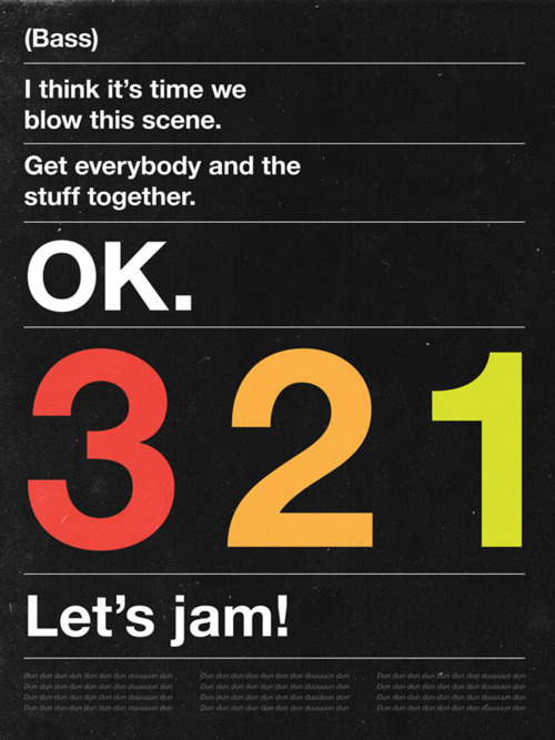 "panikfaze:  source  Freaking awesome. Dones't get better than Helvetica and ""Tank."""