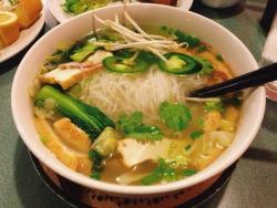 pho vegetarian tofu