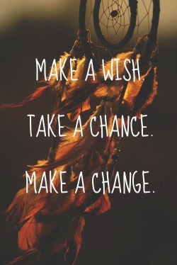 lotusbeauty22:  Wish,Chance&Change