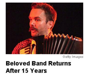 AOL chooses the definitive Neutral Milk Hotel photo to link to its reunion story.