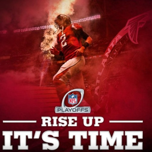 It's GAME DAY!! #riseup #atlanta #falconnation #falcons