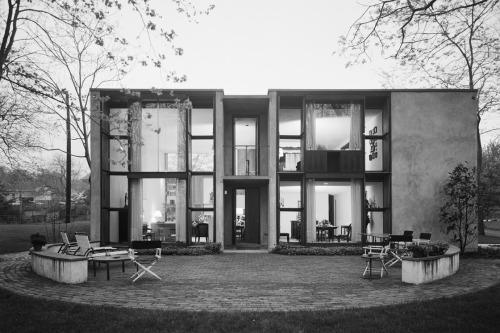 Esherick House, Louis Kahn, Philadelphia, PA, 1966 — Ezra Stoller