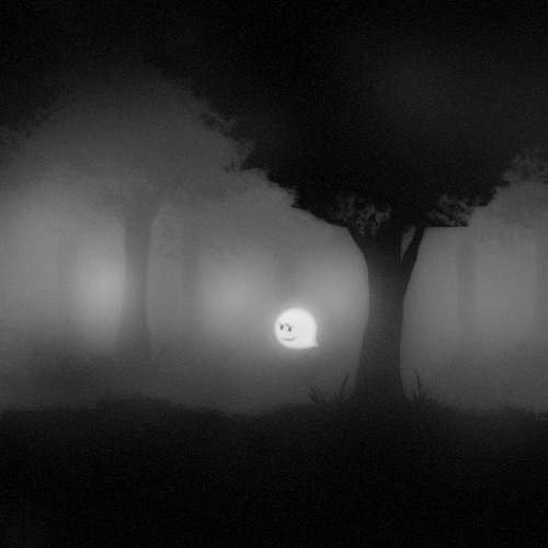 tinycartridge:   Boo floats through the foggy forest, by Pepaden BUY New Super Mario Bros 2/U