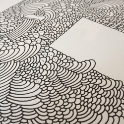 Drawing so many lines my hand aches… by supermundane http://bit.ly/XHmGVm