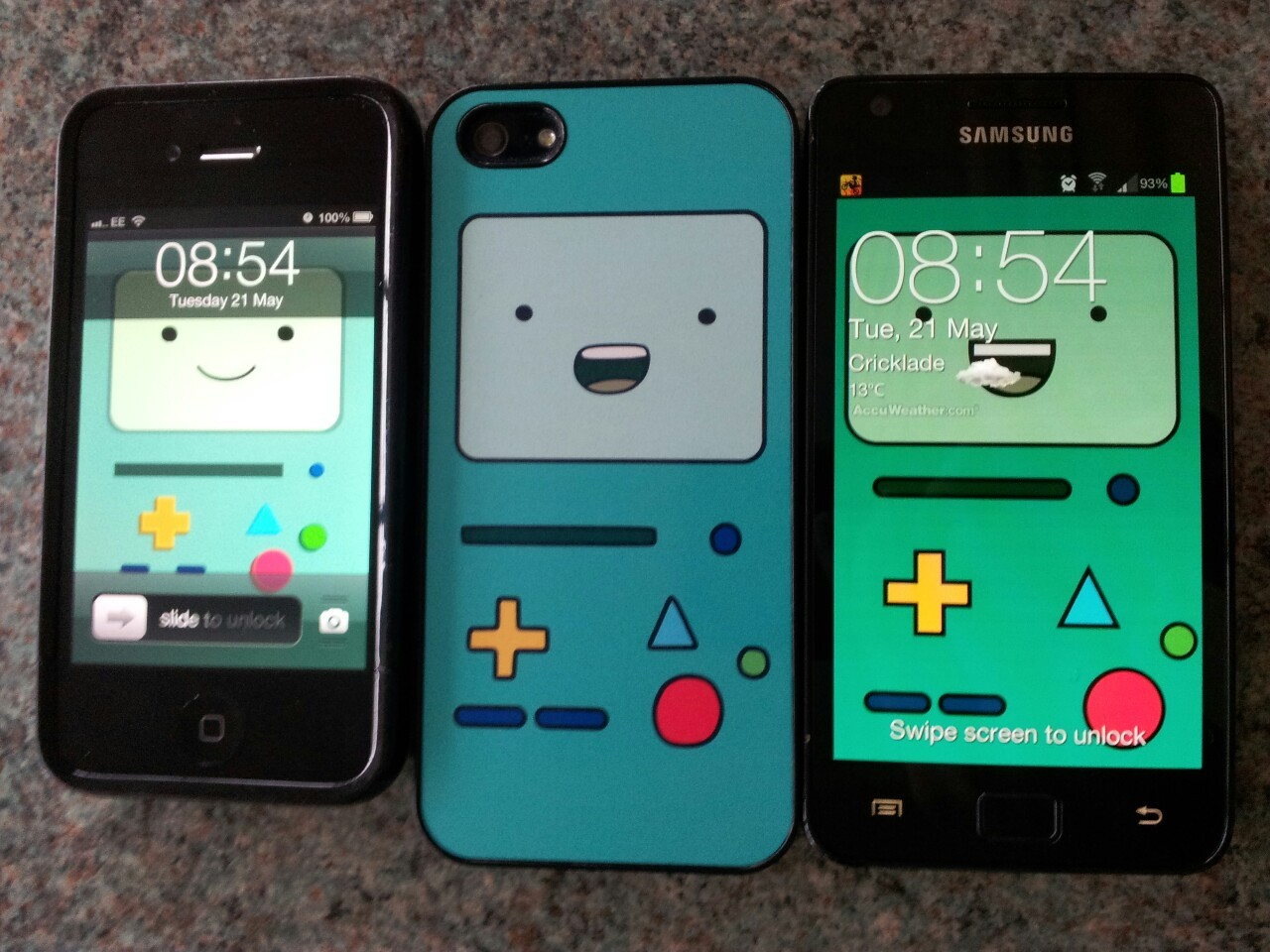 amychalk:  varying degrees of BMO