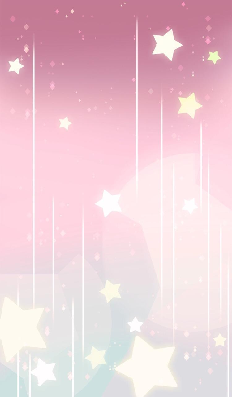 Art Cartoon Stars Pink Scenery Pastel Not Mine Requests
