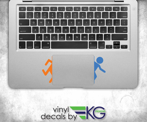 (via Portal Split 2 x 3 Vinyl Decal by KirbyGraphix on Etsy)
