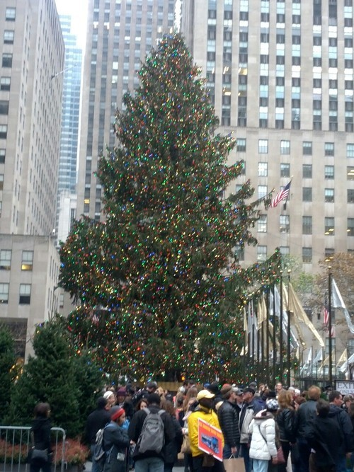 Christmas at Rockefeller Center!