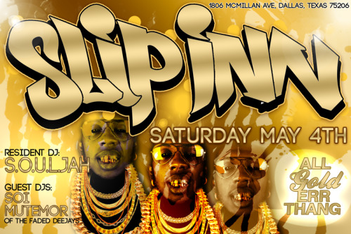 This saturday may 4th we rocking slip inn
