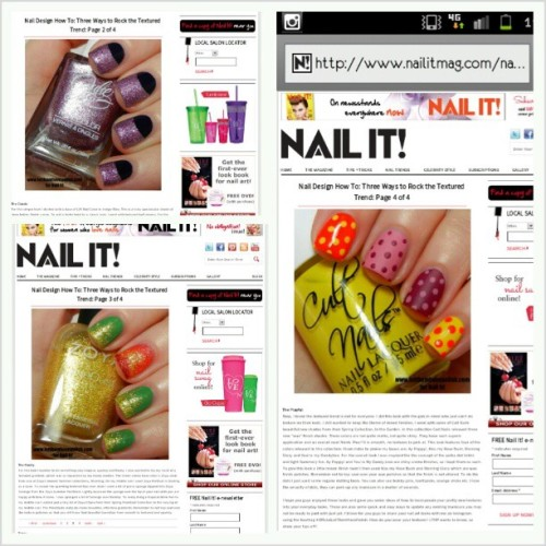 Head to @nailitmag nailitmag.com to see this post I did featuring @juliegbeauty @iwantjessesgirl @shoplvx @cultnails and @zoyanailpolish Three ways to incorporate the texture trend into nail art looks! Closeups later on! #officialletthemhavepolish #nailitmag #nailitmagazine #nofilter #cultnails #zoyanailpolish #zoya #juliegbeauty #iwantjessesgirl #juliegnailpolish