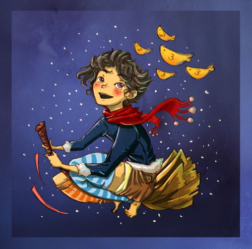 eatsleepdraw:  Boys can be Witches, too. Art blog here :D  Yes, I believe that would be the art of being a Bitch. Boy-Witch.