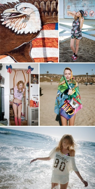 Stussy Women Spring 2013 by Valerie Phillips