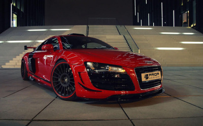 automotivated:  Prior Design Audi R8 PD GT650 (by GermanCarScene)