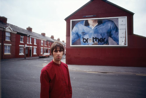 thereal1990s:  Liam Gallagher, Manchester, 1994