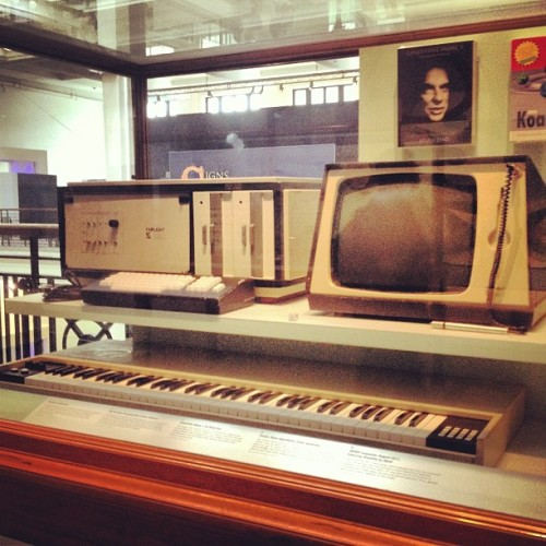 Fairlight!  (at Science Museum)