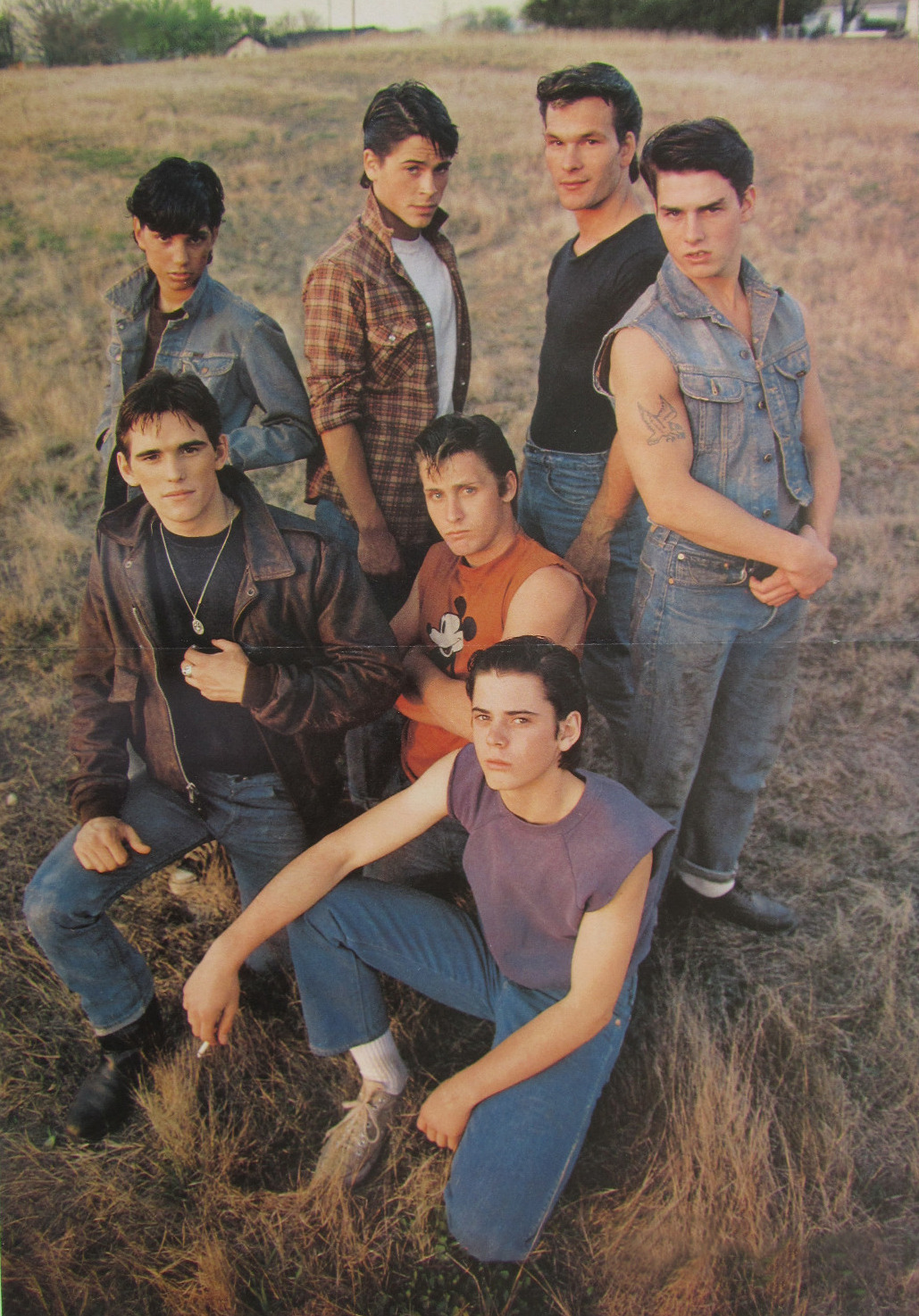 loljessica:  cordiali-tea:  The Outsiders  AHH PONYBOY