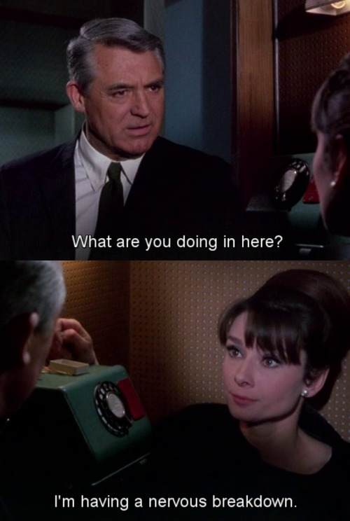 mmmayhemspeaks:  fabfilmfashion:  Charade (1963)  faaaavorite movie.