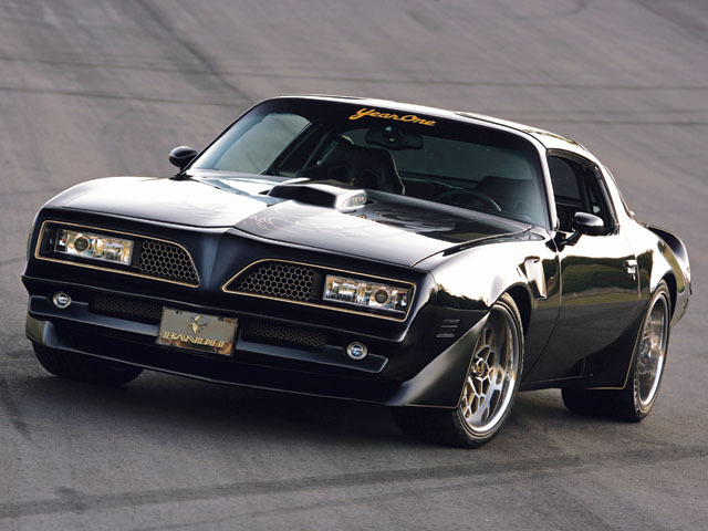 What do you guys think of the Year One Trans Am?