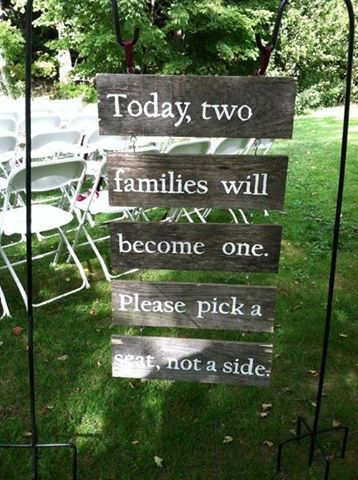 interraciallove254:  This sign should be up at every wedding. Love this!