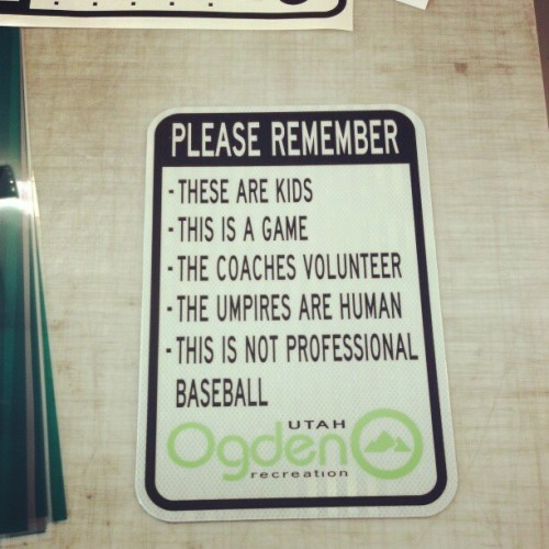 Good job, Ogden, UT recreation.