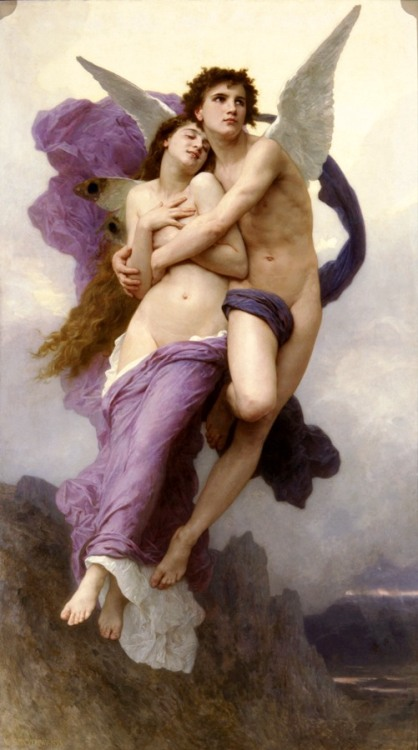 Bouguereau Amore et Psiche, Le Ravissement de Psiche I would feel the same.