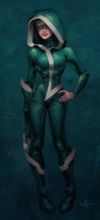 astonishingx:  Rogue by Alex Garner