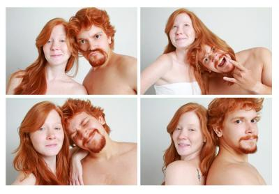 jul-l-amazone:  V project - Redheads in Porto Alegre - by Virginia Nuñes flickr | facebook
