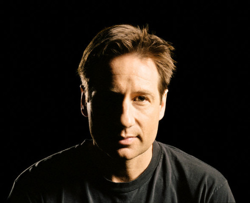 not mine black and white david  duchovny photoshoot coloured