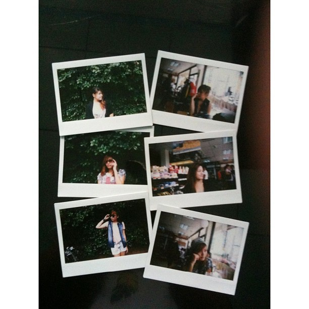 Some things will remain. #instadaily #iphonesia #instax #bestfriends