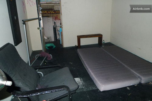 "theworstroom:  East Williamsburg, Brooklyn. $1061.00 ""This apartment is one of the last of its kind in the area."""