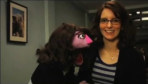 flavorpill:   Tina Fey in Final Talks for Lead in Disney's 'Muppets' Sequel  WHAT