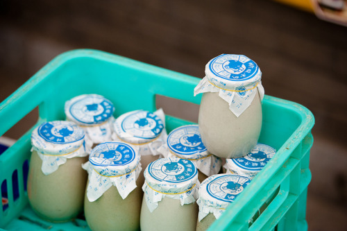 dreams-of-japan:  Fresh Yogurt with Honey by Finstr on Flickr.