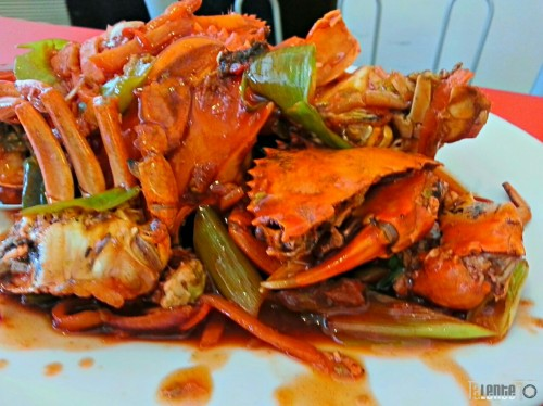 Buttered crab: they say that the 'gay' (baklang alimango) crab is more delish than the female and the male. What do you think?