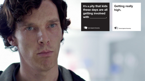 girlwhovian:  cards against humanity / sherlock edition [insp] [thor edition] [supernatural edition] [avengers edition]