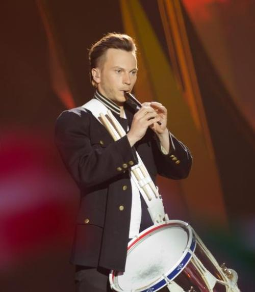 No I didn't spot him on Eurovision and decide I had to know his name and googled until i found it! That's not something i would do at all!