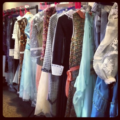 northernballet:  A costume rail for #TheGreatGatsby… Getting excited!! (at Northern Ballet)