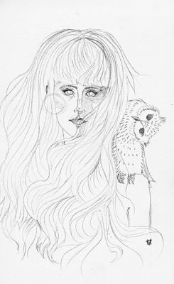 owl girl (work in progress)