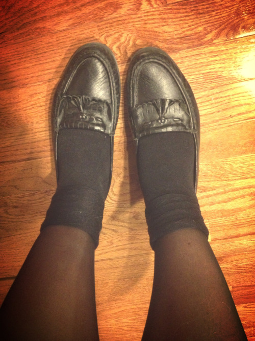 midwest-monster:  Tonight's footwear