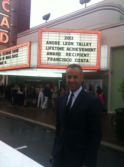 Francisco Costa honored with the André Leon Talley Lifetime Achievement Award in Savannah, Georgia