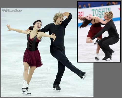 Meryl Davis and Charlie White skating their Notre-Dame de Paris free dance at the 2012 Grand Prix Final and 2012 NHK Trophy. Sources: http://kimas.gallery.ru/watch?ph=vV8-eAFe6 http://www.goldenskate.com/2012/11/davis-and-white-dominate-at-nhk-trophy/