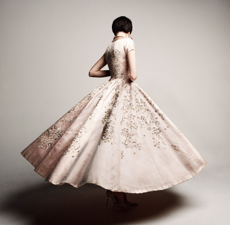 The exhibit Sophie Gimbel: Fashioning American Couture opens on January 22nd at the Sheila C. Johnson Design Center (SJDC) at Parsons The New School for Design.  Curated by fashion historian and professor Beth Dincuff Charleston, this smart exhibition uses garments from Parsons Archive to celebrate Gimbel's championing of American Couture.   Admission is freeOn View January 22-February 12, 2013Lecture: February 8, 5:30 pm The Sheila C. Johnson Design CenterParsons The New School for Design66 Fifth Avenue, New Yorkwww.newschool.edu/sjdc Photo above: Sophie Gimbel, Evening Dress, 1953. Photo Credit: Julia Noni for Saks Fifth Avenue