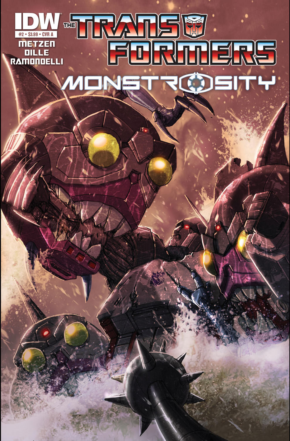 Transformers: Monstrosity #2 (of 4)