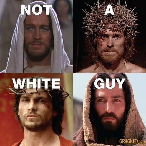 Jesus: Not a White Guy