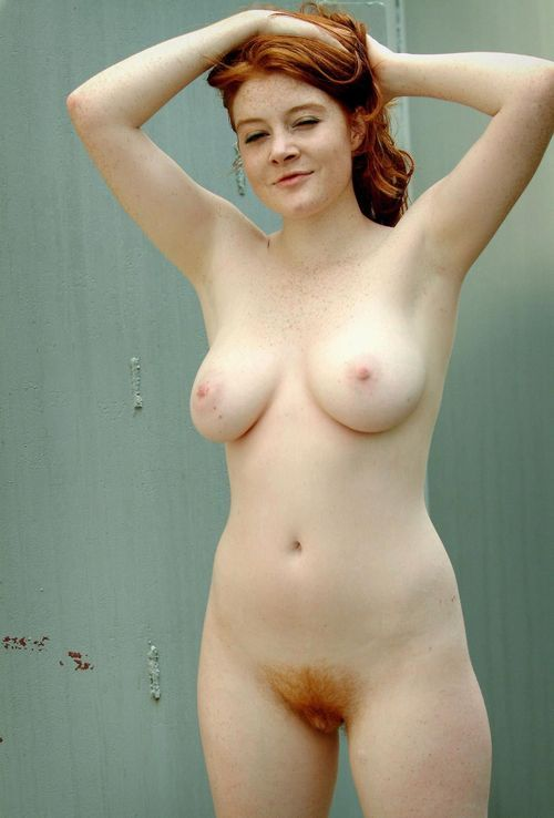 Nude girls pussy redhead with freckles
