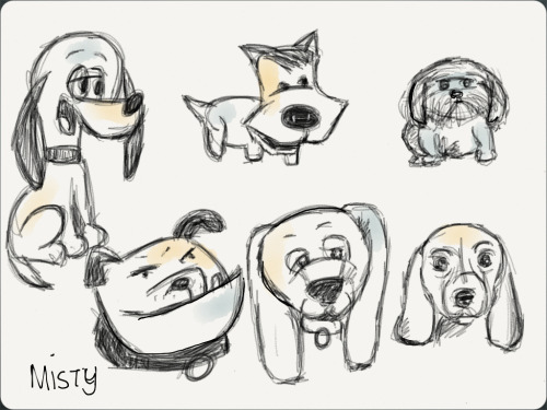 My Dog Sketches :) happy weekend #MadewithPaper