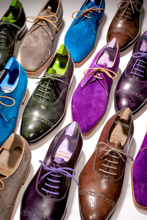 Paul Smith & John Lobb Shoe Collaboration